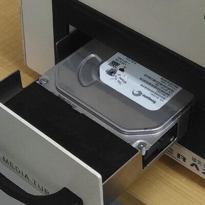 磁気データ消去装置のメディアセット