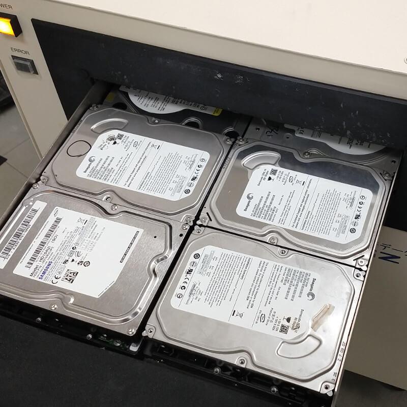 PRO-L10 ハードディスク同時消去